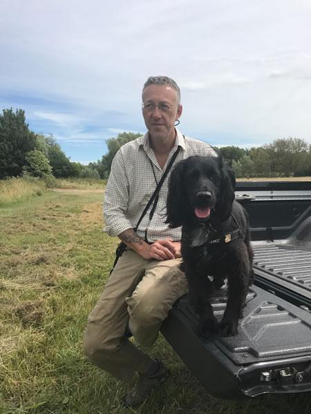 Russ Du Parcq dog trainer